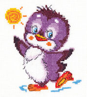Cross Stitch Kit Penguin art. 18-49