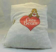 """Vintage 1989 Care Bears Bear Plush Stuffed Pillow Book for Bedtime - 4 """"pages"""""""