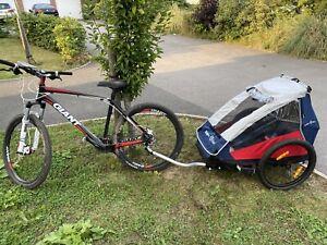 Croozer Kiddy Van Double Bike Trailer