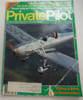Private Pilot Magazine Flying A Rare Ryan Restoration May 1989 FAL 060515R2