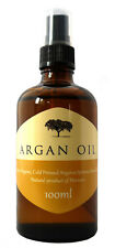 ARGAN OIL 100% Cold Pressed Pure Certified Organic Moroccan Argan Oil 100ml