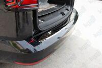 Vw Caddy MK4 IV 2015Up Chrome Rear Bumper Protector Scratch Guard S.Steel(Black)