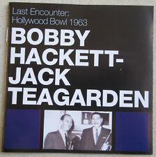 BOBBY HACKETT JACK TEAGARDEN   CD HOLLYWOOD BOWL 1963