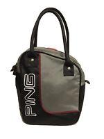 Ping Golf Practice Ball Bag Silver/Black EUC
