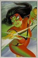 Spider-Woman #1 Alex Ross VIRGIN Variant Cover IN HAND Toploader GEMINI SHIP