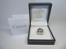 Clogau Welsh Gold, Silver & Rose Gold Treasure Chest Clip on Charm