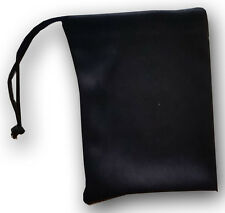 QTY 800 Jewelry Size Travel Pouch Small Gift Bag Black Soft Microfiber BULK LOT