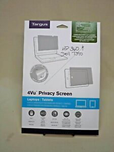"""Targus 4Vu Privacy Screen for 13.3"""" Widescreen Laptops or Tablets New in Box"""