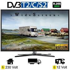 Reflexion LEDW24 Fernseher 23.6 Zoll 60cm DVB-S2/C/T2 12V 230V Wohnmobil Camping