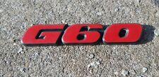 VW Corrado G60 Rear panel badge 357853675
