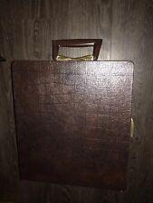 Portable Travel Briefcase Bar Mid Century Retro Vintage