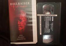 Hellraiser: Hellseeker VHS (Cutbox, Former Movie Gallery Rental)