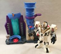 Power Rangers Imaginext Command Centre and White Tiger Zord Figure