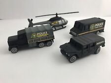Plastic Toys - 4pc New York Police Response Team