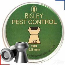 Bisley Pest Control .22 Hollow Point Air Rifle Pellets 5.5mm 200 Tin