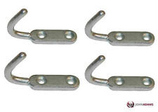 4 x Small Tailboard Rope Hooks Heavy Duty Steel Tippers Trailers Truck Dropside