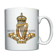 The Royal Irish Regiment (18th) Personalised Mug / Cup *
