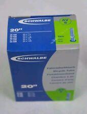 SCHWALBE INNER TUBE 20 x 1 1/8 - 20 x 1.50 SCHRADER VALVE AV6