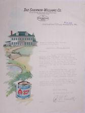 1927 Lamson Goodnow Sherwin Williams Co Tulso OK Paint August 16 Ephemera L940A