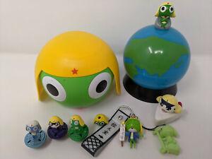 Keroro Gunso LOT Sgt Frog Plastic Globe Lamp Toys Case Figures Japan Kids MORE
