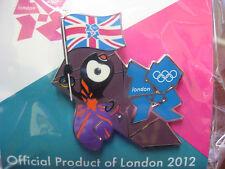 LOT of 15 PINS - London 2012 Olympic Pin - Mascot Union Jack Flag