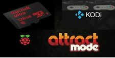 128GB (Attract Mode) Micro SD 18576 Games + Kodi + 2 x Usb Snes Joypads, BUNDLE!
