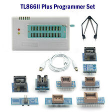 TL866II Plus USB Programmateur 40-pin NAND EEPROM 8051 Microcontrôleur ,VPP, VCC