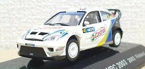 1/64 CM's Rally 2003 FORD FOCUS WRC FINLAND castrol #4 diecast model