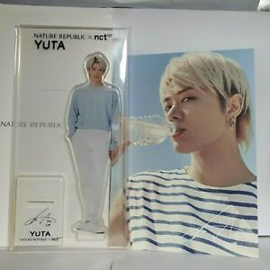 NCT 127 NATURE REPUBLIC NEW acrylic life-size - YUTA standee+summer photocard