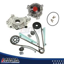 Timing Chain Water Oil Pump Kit Fit 02-05 Ford Explorer Mountaineer WINDSOR 4.6L