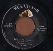 RCA 50s Latin jazz mambo 45  TITO PUENTE - Everlasting Love + Vibe Cha Cha  NICE