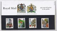 GB Presentation Pack 163 1985 350 yrs Royal Mail 10% OFF 5