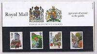 GB Presentation Pack 163 1985 350 yrs Royal Mail 10% OFF 5