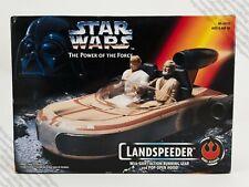 1995 Kenner Star Wars Power of the Force POTF2 Landspeeder vehicle MISB