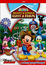 Disney Junior Kids Show Mickey Mouse Clubhouse Mickey and Donald Have a Farm DVD