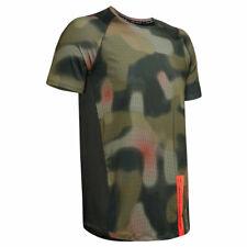Under Armour Mens Mk1 Short Sleeve Printed Wicking HeatGear® T-Shirt