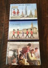 China airlines Playing Cards London Flight Attendant 3 sets New
