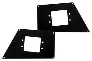 Go Rhino For Chevrolet /Dodge/Ford/Ram BR Front Light Plates Flush Mount 241731T