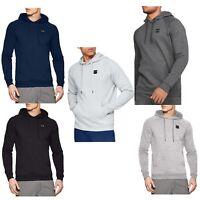 Under Armour UA Mens Rival Fleece Hoodie Hoody Sweatshirt Jumper Pullover Top