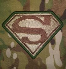 a34e0962366b SUPERMAN COSTUME MULTI CAM VELCRO PATCH