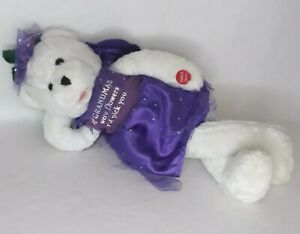 "RARE Chantilly Lane Bear Sings ""The Wind Beneath My Wings"" Animated Wings Move"