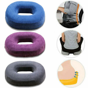 Memory Foam Donut Seat Cushion Seat Pad Coccyx Pain Relief Pillow Home Office