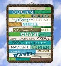 Tropical Beach Ocean 30 Sayings Sea Wall Decor Prints  Plaques lalarry Ventage