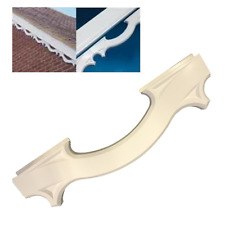 RT22 Decorative UPVC Plastic Fascia Bargeboard Mouldings White