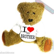 I Love My Brother Novelty Gift Teddy Bear