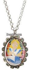 "NEW DISNEY Tim Burton 20"" Alice In Wonderland CAMEO Pendant Necklace Jewelry"