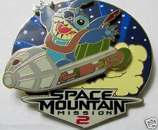 Disney DLRP Stitch Invasion Series Space Mountain Pin **