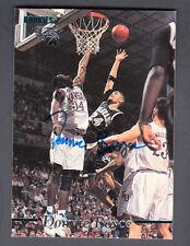 Donnie Boyce 1995 Signature Rookie Autograph Edition On Card Auto