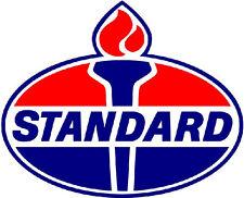 STANDARD GASOLINE VINYL STICKER  (A880) 12 INCH