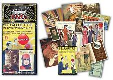 The Roaring Twenties Memorabilia Gift Pack - over 20 pieces of Replica Artwork